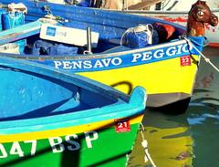 MA PENSA PER TE...!!!! (Skiappa.....v.i.p. (Volentieri In Pensione)) Tags: lago lumix barca panasonic acqua colori riflessi sirmione lagodigarda skiappa