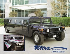 1999 Hummer Stretch Limousine by Ultra Coachbuilders (aldenjewell) Tags: 1999 stretch hummer brochure ultra limousine coachbuilders