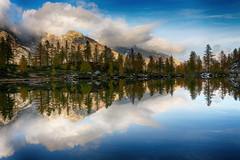 Perfect Match (alexh1983) Tags: lake canon landscape lago eos 5d riflessi paesaggio perfetta ossola ragozza bognanco corrispondenza blinkagain