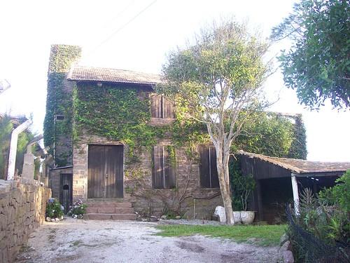 Casa da pedra.