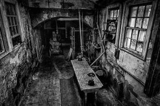 Alcatraz - Morgue