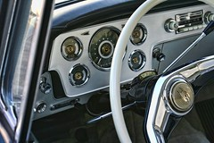 . (~ Liberty Images) Tags: black classiccar vintagecar chrome dashboard coupe roadster americancar stude classiccarinterior libertyimages