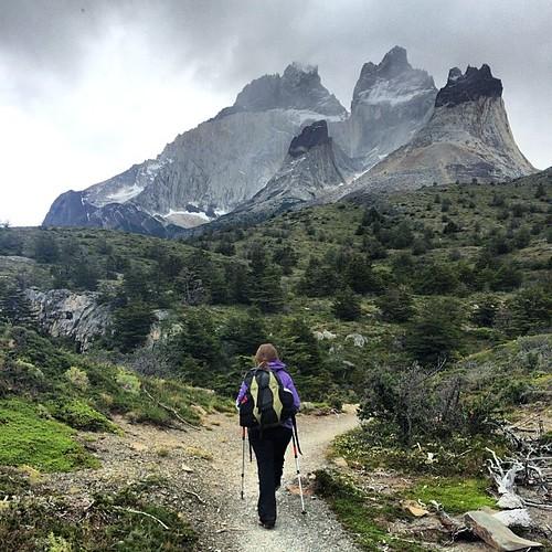 "The Cuernos ""horns"" del Paine #torresdelpaine #day2 #latergram"