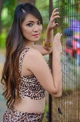 DSC_0217 (raelitocore) Tags: portrait woman cute nature beautiful beauty asian 50mm nikon ambient filipina d5100