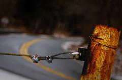 Windy roads (Nicholas Goetz) Tags: nyc ny vintage fun lost wire rust lock connecticut ct locks roads chill