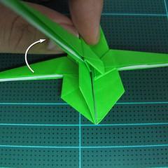 วิธีพับกระดาษเป็นจรวด X-WING สตาร์วอร์ (Origami X-WING) 033