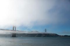 Foggy Golden Gate (kent.c) Tags: sf sanfrancisco california usa northerncalifornia cali canon us foggy goldengate 2013 kentc foggygoldengate canon5dmarkiii 062013 kentcphotography