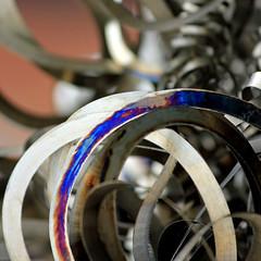 Junk yard sexy (tanakawho) Tags: abstract metal cool junk dof bokeh line squareformat junkyard curve tanakawho junkyardsexy
