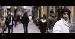 Blues in the Venestraat (zilverbat.) Tags: portrait people dutch town focus eyecontact dof bokeh thenetherlands streetphotography dramatic streetlife streetscene denhaag tourist human timelife cinematic thehague streetwise streetshot urbanlife streetcandid streetstyle hofstad straatfotografie straatportret dutchholland straatfotograaf zilverbat haagsegezichten humansofthehague