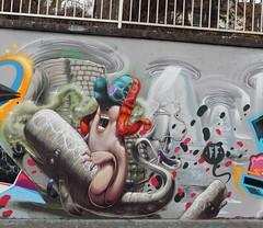 whalin (Pixeljuice23) Tags: streetart graffiti mainz friendlyfire whalin pixeljuice