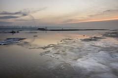 Vistula River - last days of winter (fkwiatkowski) Tags: winter sunrise river landscape warsaw zima warszawa wisła vistula rzeka wilanów krajobraz wschódsłońca