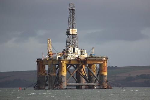 JW McLean Oil Rig