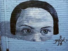 Yeok... (colourourcity) Tags: blue streetart art graffiti head blues melbourne bleu singintheblues awesone yeok burncity flickrandroidapp:filter=none colourourcity