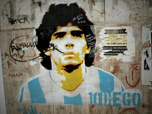 Maradona, Buenos Aires, Argentine