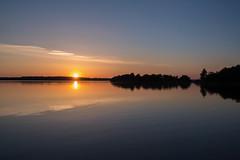 Järsöfjärden at Dusk, Åland (Marc Arnoud Rogier van der Wiel) Tags: sunset sky night landscape seaside waterfront outdoor clear shore åland