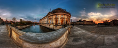 Bode Museum (Nachtwächter) Tags: panorama berlin fernsehturm dri hdr museumsinsel bodemuseum berlinmitte tonemapping