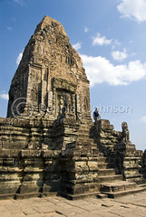 Pre Rup, Angkor, Cambodia (dkjphoto) Tags: travel trees brick tower statue stone stairs temple vines sandstone ruins worship asia cambodia king khmer god buddhist religion buddhism jungle siemreap angkor hindu hinduism prerup laterite rajendravarman dennisjohnson