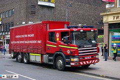 Scania 94D 300 Glasgow 2014 (seifracing) Tags: show rescue cars station scotland europe britain glasgow scottish security ambulance east vehicles emergency sort spotting services strathclyde scania brigade vito ecosse 2014 seifracing