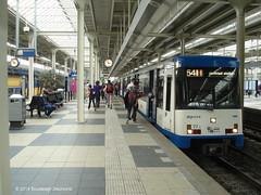 Amsterdam GVB 77+84+105 (Bou46) Tags: amsterdam underground subway metro ubahn 77 54 caf gvb gvbamsterdam lijn54