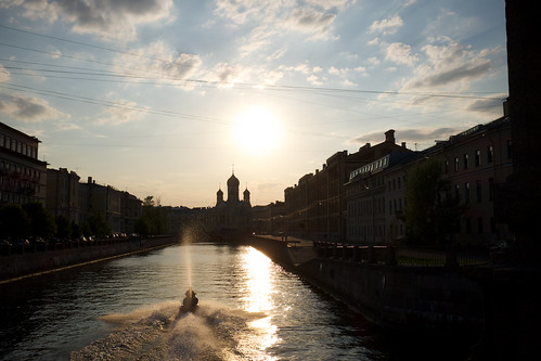 Neva sunset/  ©  Still ePsiLoN