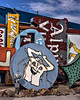 Happy Shirt Sign in HDR (eoscatchlight) Tags: sign lasvegas nevada neonsign retired hdr rustyandcrusty yesteryear photomatix calnevari ofdaysgoneby neonsignmuseum
