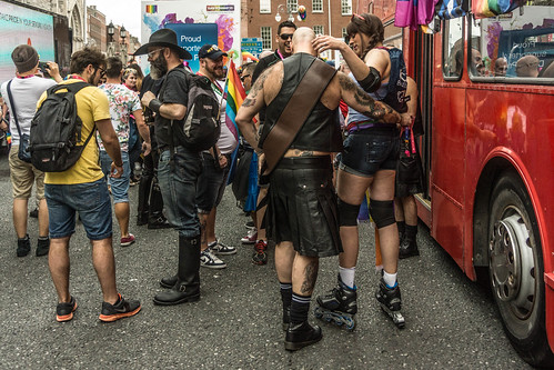 DUBLIN 2015 GAY PRIDE FESTIVAL [BEFORE THE ACTUAL PARADE] REF-106265