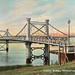 Fitzroy Bridge, Rockhampton, Australia - circa 1910