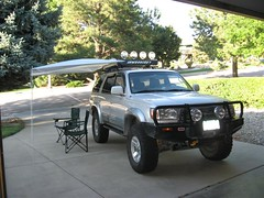 Shady Boy Awning on Toyota 4Runner 7