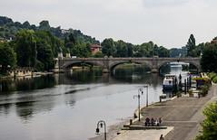 Turin, Italy (blacknepheli) Tags: italy river landscape torino pentax fiume piemonte po 1855 turin kx parcodelvalentino