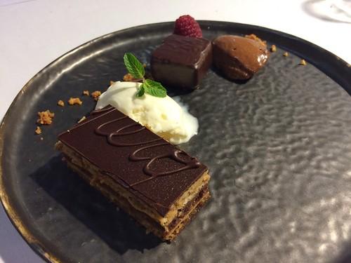 Dessert tout chocolat