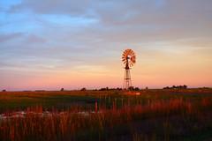 Campo quieto (kchocachorro) Tags: landscape colours sun sunset clouds