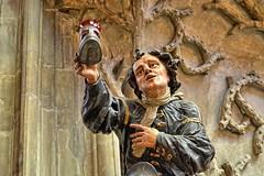 Praga-Katedra św. Wita (marek&anna) Tags: praga praha prague hradcany church cathedralstwit statue sculpture