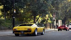 Classics (Martijn Beekmans) Tags: london londen car auto classic supercar nikon d610 85mm lamborghini miura sv ferrari 288 gto