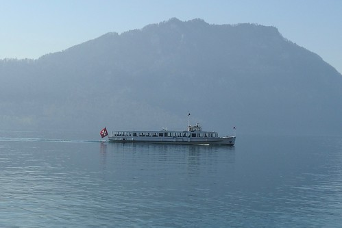 Ship MS Mythen Lake Lucerne Vierwaldstättersee Luzern Switzerland