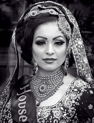 Asian bride (Elysian-Photography) Tags: show flowers winter roses horses people snow seascape france london beach leaves fashion stairs mediumformat hair studio manchester lights blackwhite nice shadows chairs greenwich hijab makeup jewellery clothes hasselblad event shipwreck somersethouse wetplate oldham boxing woodenfloor stannes fleetwood crosby formby victoriaalbertmuseum daisynook victoriabaths uppermill stpaulss asianbride wernethpark fleetwoodmarsh huddersfieldrd fashionbazaar fashionmela