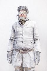 "ultrarretratos: ""blanco""  por carlos escolstico (carlosescolastico.com) Tags: blackandwhite white blanco powder mature freeze hielo hombre hombres maduro ultraretrato"