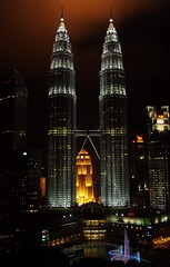 Petronas Twin Tower (703) Tags: tower night petronas nightview kl klcc petronastwintower pentaxk5malaysiakualalumpur