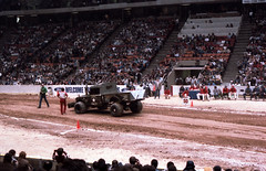 IMG_0051 (Nighthauler Photography) Tags: tractor cars truck pull meadowlands arena crushing bigfoot sled weight
