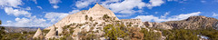 Tent Rocks National Monument (Michael Deleon Photo) Tags: winter newmexico clouds afternoon unitedstates panoramas geology rockformations kashakatuwetentrocksnationalmonument jemezsprings