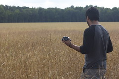 (peculiarnothings) Tags: camera portrait nature field back outdoor