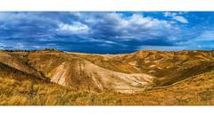 Israel (adamhweiss) Tags: blue orange beautiful israel desert israeli