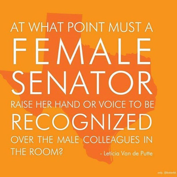 Leticia Van De Putte and Wendy Davis have shot to fame and a place in the history books. #standwithwendy #txlege #sb5
