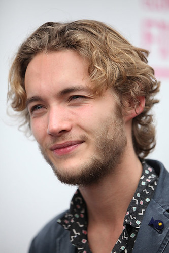 UWantMeToKillHim actor Toby Regbo outside the Filmhouse