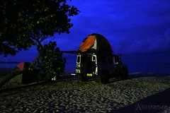 (architorture republik) Tags: blue camping roof sea camp kilimanjaro wheel night four site sand 4x4 top rover 4wheeler tent hour land landrover nite landy defender 4wheel architorture