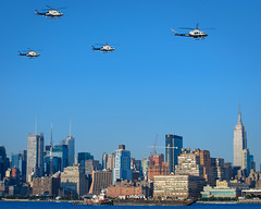4th of July NYPD Helicopter Flyover (Insite Image) Tags: newjersey nikon manhattan nypd hudsonriver empirestatebuilding 4thofjuly policehelicopter newyorkny hobokennj macys4thofjulyfireworks nikond600 hobokenhistoricalmuseum 14thstreetpier tamronsp70300mmf456divcusd