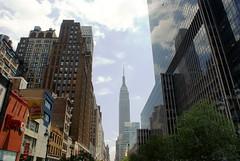 Empire State Building (MJ_100) Tags: city nyc usa newyork building tower america skyscraper us state manhattan structure midtown esb empirestatebuilding empirestate