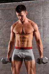 Nate 071 (Violentz) Tags: shirtless portrait man male guy model nate torso bodybuilder beefcake physique physiquemodel