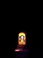 School Doors (DJVAQ) Tags: school urban color colour yellow night composition contrast canon dark joseph colorful dj doors bright time creative sigma late colourful welcome delfin 1850 welcoming 550d f2845 t2i vaquilar djvaq djtvaq