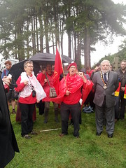 1911 Llanelli uprising commemmoration, Llanelli Aug 2013 (Communist Party of Great Britain(Marxist-Leninist)) Tags: grave march remember railway llanelli wreath strike uprising johnjohn commemoration leonardworsell