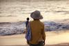 Cosey Beach (kumuaka) Tags: ocean boy sea summer people beach kids canon japanese hawaii evening asia child general grandmother bokeh 85mm maui grandson ハワイ dslr ze kihei grandkid carlzeiss アメリカ合衆国 planart1485 eos5dm2 キヘイ